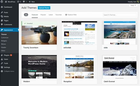 upload themes wordpress free how to install a wordpress theme step by step guide