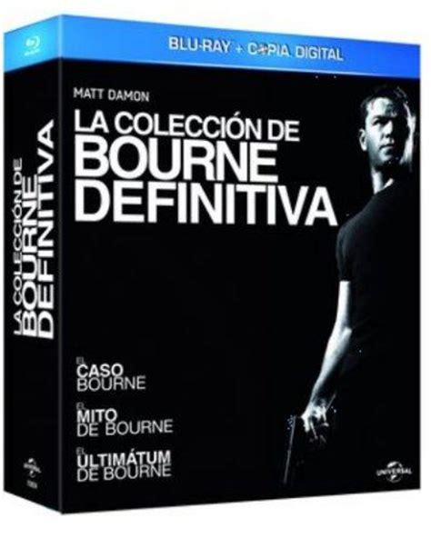 el caso bourne trilogia pack bourne trilog 237 a formato blu ray en fnac es