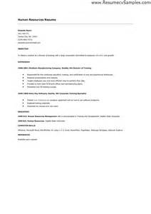 Hr Trainer Cover Letter by Sle Hr Cover Letters