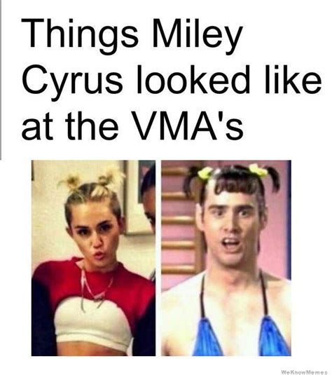Miley Meme - how miley cyrus at the vma s will go down in history