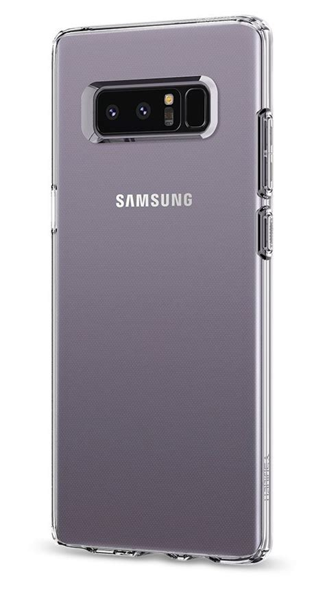 Spigen Liquid Series Samsung Note 8 Original Clear best clear cases for samsung galaxy note 8 android central