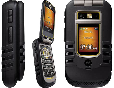 at t rugged cell phones motorola nextel i686 brute bluetooth rugged phone fair condition used cell phones