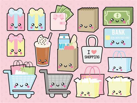 kawaii clipart premium vector clipart kawaii shopping clipart kawaii