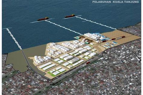 layout pelabuhan internasional pelabuhan kuala tanjung seberapa pantas koran bisnis com