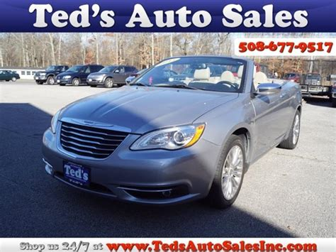 2013 Chrysler 200 For Sale by Chrysler 200 Convertible For Sale Carsforsale