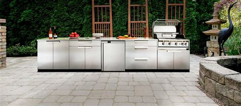 outdoor kitchen cabinets stainless steel outdoor kitchen stainless steel
