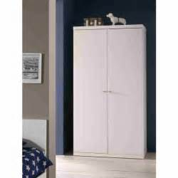 robin armoire 2 portes laqu 233 e blanche achat vente