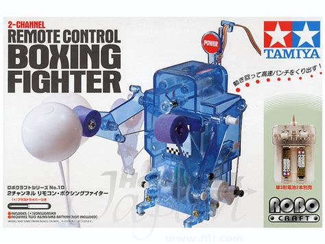 Mini Chunky Puzzle Rock Fighter 2ch remote boxing fighter by tamiya hobbylink japan