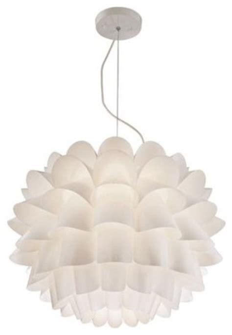 White Flower Pendant Light Possini Design White Flower Pendant Chandelier Contemporary Pendant Lighting