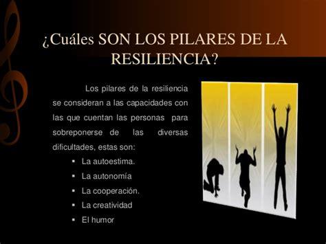 los pilares de la 8490622833 la resiliencia