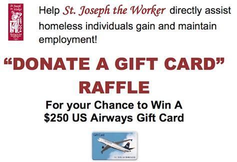 Gift Card Raffle - donate a gift card raffle the catholic sun