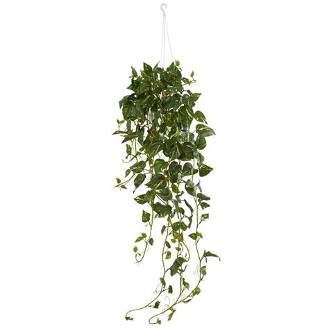 nearly pothos hanging basket artificial plant 6948