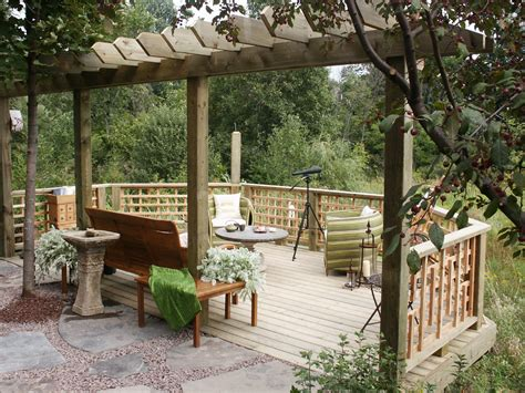 deck backyard deck vs patio what is best for you huffpost