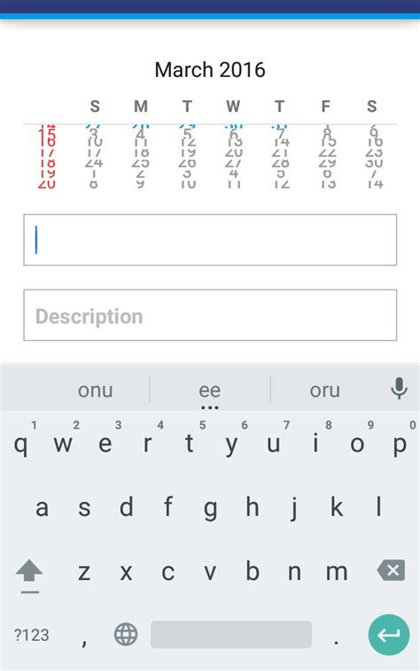 calendar layout stack overflow android calendar ui not displaying properly stack overflow