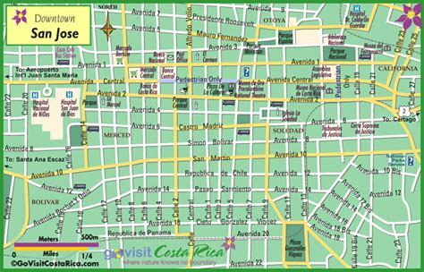 san jose costa rica nightlife map living in costa rica october 2012