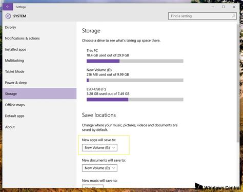 install windows 10 new hard drive how to install windows 10 apps to an external drive