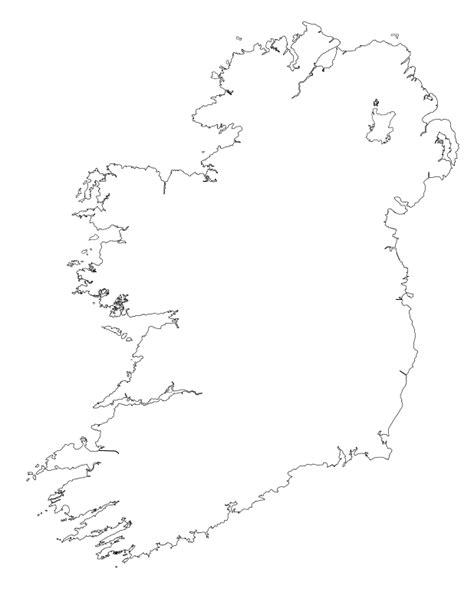 Ie Map Area Outline by File Ireland Outline Detailed Svg Wikimedia Commons