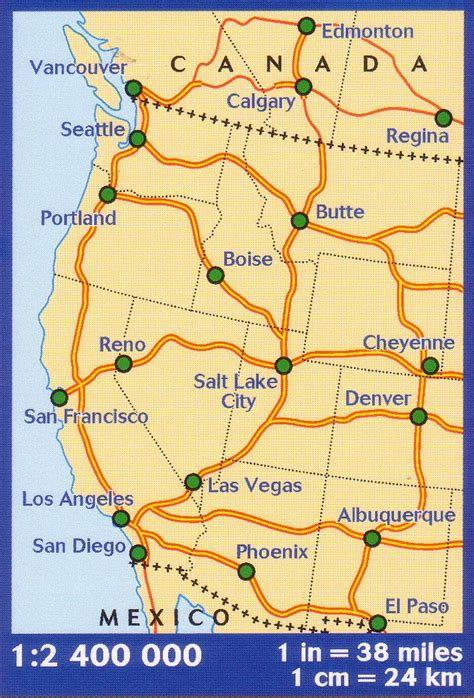 map of south western usa western usa western canada michelin buy map of western