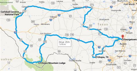 texas hill country motorcycle rides map big bend carlsbad caverns national parks motorcycle trip september 09 the texas rambler