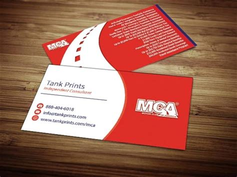 Mca Business Cards
