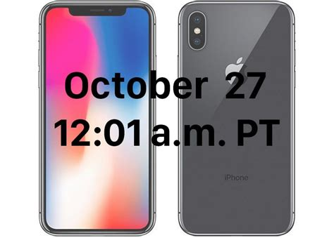 iphone in order when you can pre order the iphone x in every time zone macrumors