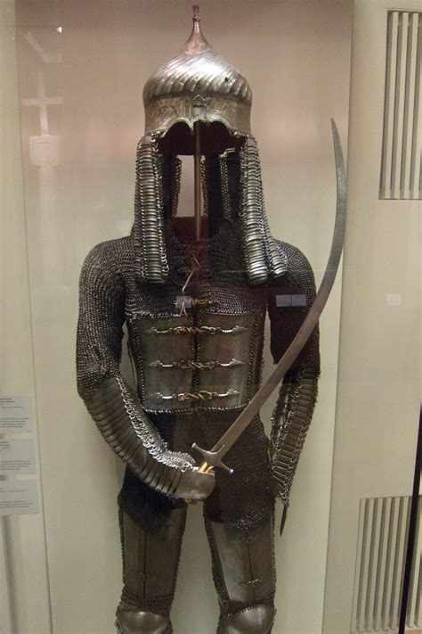 file suit file suit of chain mail from dhm museum berlin jpg
