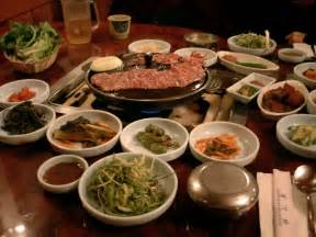 i want to tell you typical korean diet