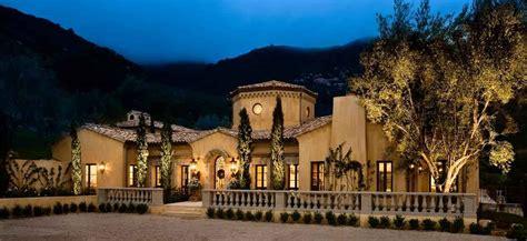 italian tuscan villa montecito residential construction