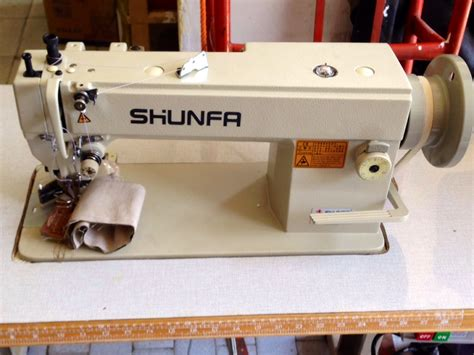 Mesin Jahit Walking Foot jual banting harga mesin jahit bahan tebal shunfa
