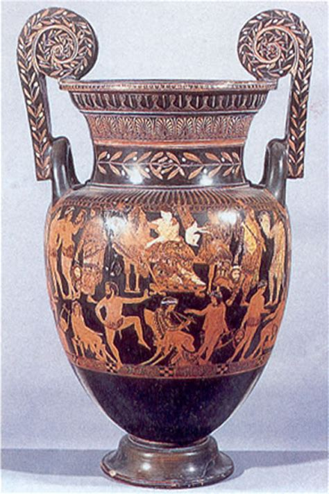 Pronomos Vase by History By Laurence Shafe Pronomos Painter Satyr