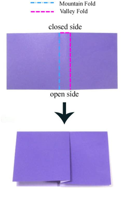 Crimp Fold Origami - how to apply a crimp fold in origami page 1