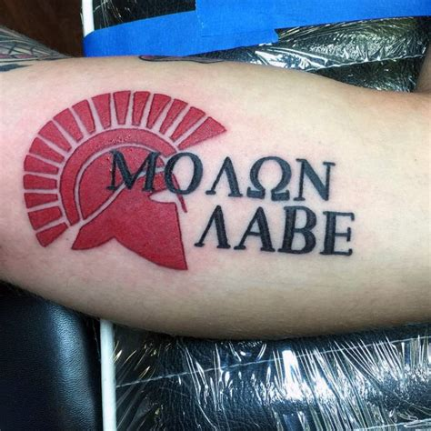 molon labe tattoo ideas 30 molon labe designs for tactical ink ideas