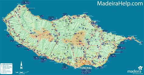 large madeira maps for free download and print high