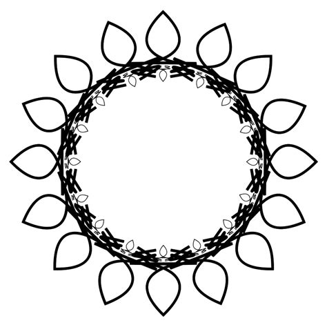 Sunflower Outline Png by Clip Sunflower Outline Clipart Best