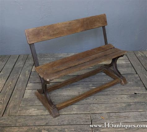 small iron bench anglo indian 1920 s small wood and iron bench for sale at