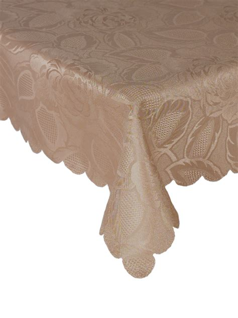 Oval Table Cloth by Traditional Floral Tablecloth Luxury Damask Table