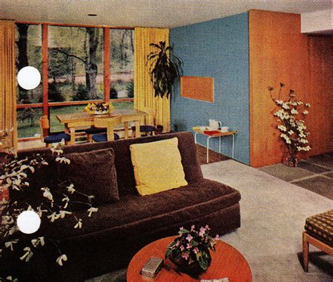 mid century modern furniture definition mid century modern using paint to define a living area