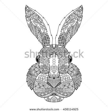 rabbit pattern drawing 211 best favorite coloring pages images on pinterest