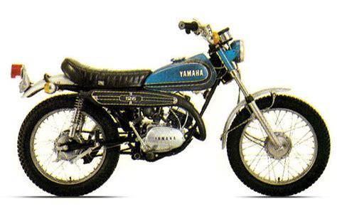 Yamaha Motorräder 70er by Stammbaum Dt 1