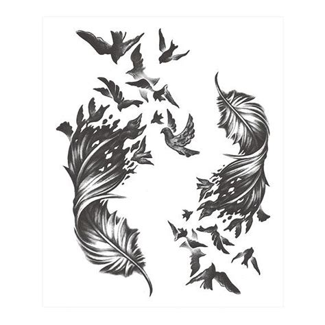 best 25 feather with birds tattoo ideas on pinterest