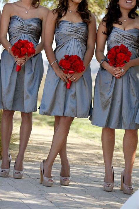 colors to match purple dress preloved bridal dresses silver bridesmaids dresses with red flowers grey