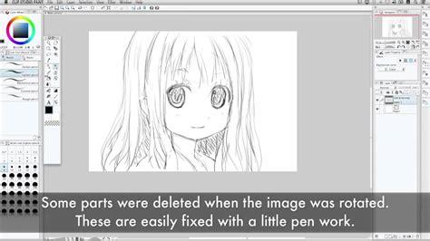 tutorial wacom intuos manga intuos comic underdrawing in clip studio paint with manga