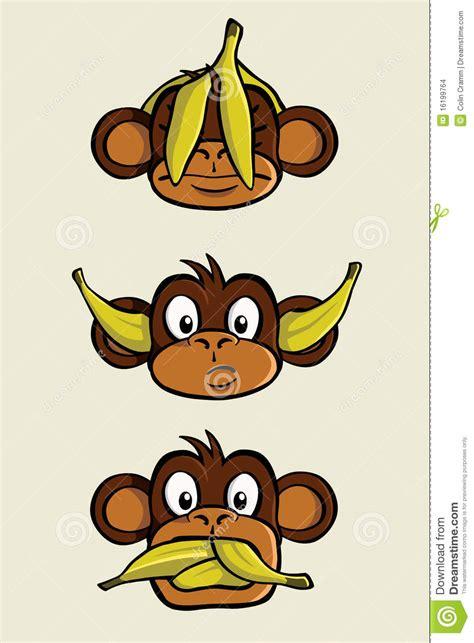 trois singes sages images stock image 16199764