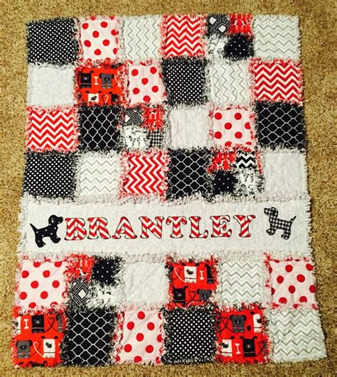 Black And Gray Quilts by Baby Rag Quilt In Black Gray And White 2016