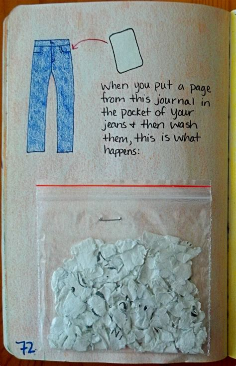 What To Do When Colors Run In The Wash - wreck this journal mess c b wentworth