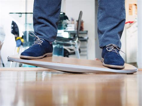 standing desk balance board the level is a balance board for standing desks and it s