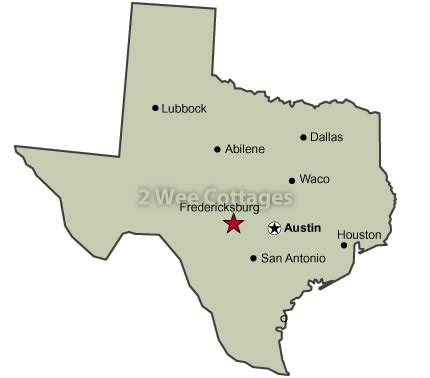 major cities of texas map directions 2 wee cottagesfredericksburg texas bed breakfast tx hill country