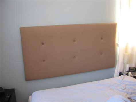 Headboard On Wall by How To Make An Upholstered Headboard Jumptuck
