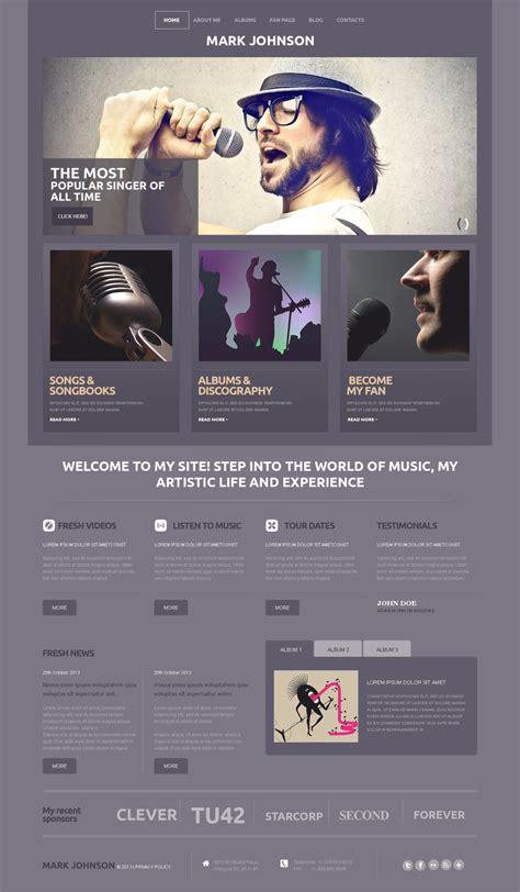 bootstrap themes free band music wordpress theme 50501 templates com