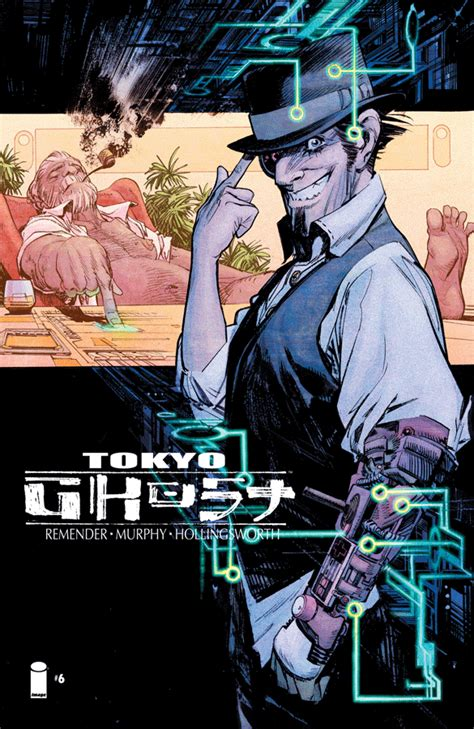 tokyo ghost deluxe edition b0735qfsr4 tokyo ghost 6 releases image comics